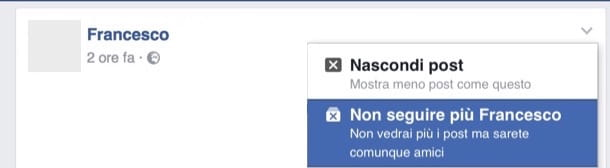 Come limitare una persona su Facebook