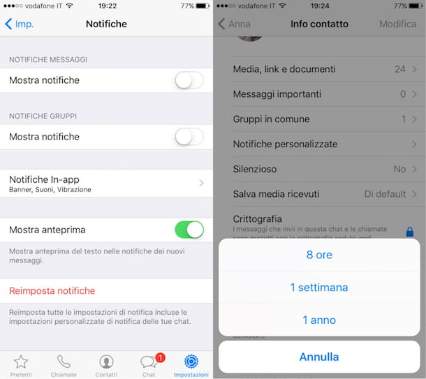 Come spegnere WhatsApp