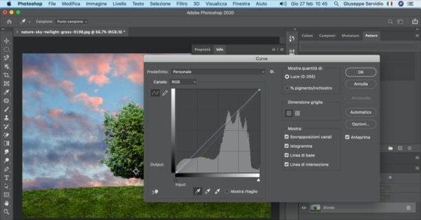 Bilanciamento del bianco con Photoshop su PC