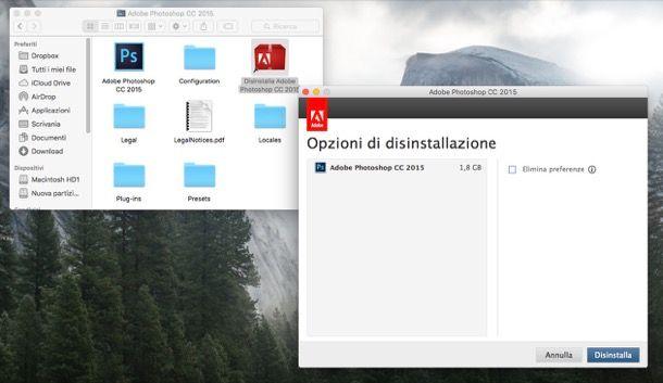 Come disinstallare un programma da Mac