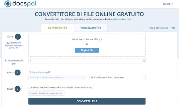Come trasformare un PDF in Word con Mac