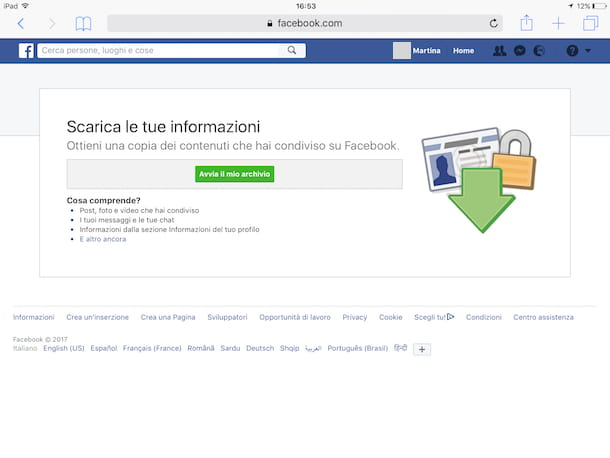 Come cancellarsi da Facebook Mobile