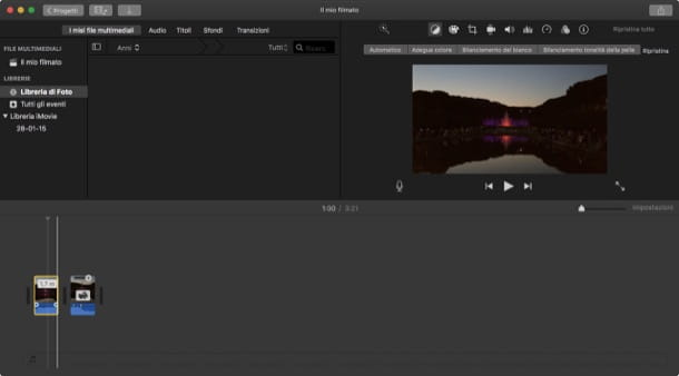 Programmi per editing video Mac