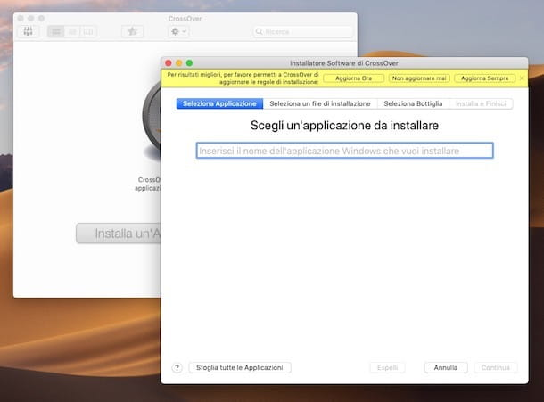 Programmi per usare Windows su Mac