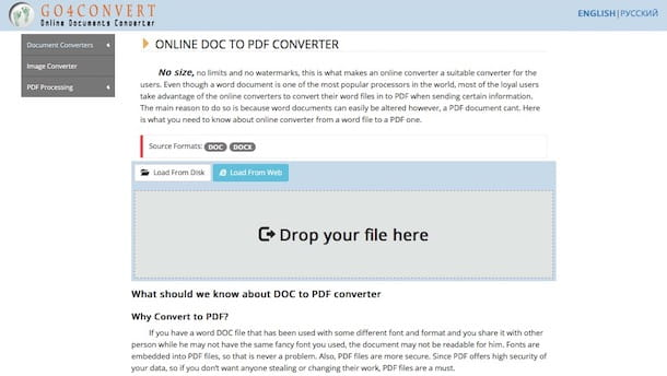 Come trasformare un file Word in PDF con Mac