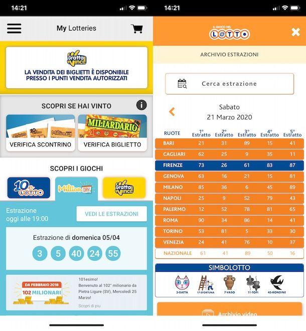 Giocare al Lotto da smartphone e tablet