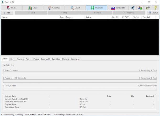 Programmi per BitTorrent