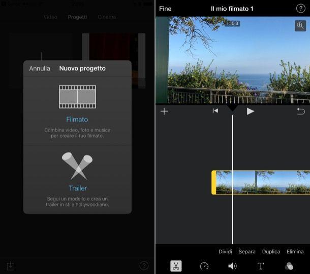 Come modificare un video su iPhone