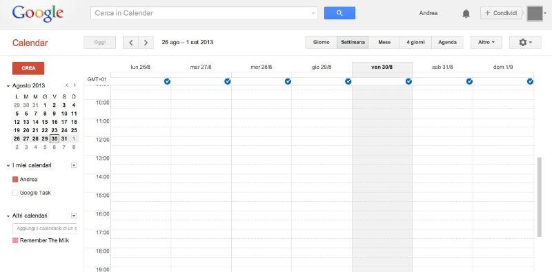 Calendario Appuntamenti Condiviso.Programmi Per Calendario Salvatore Aranzulla