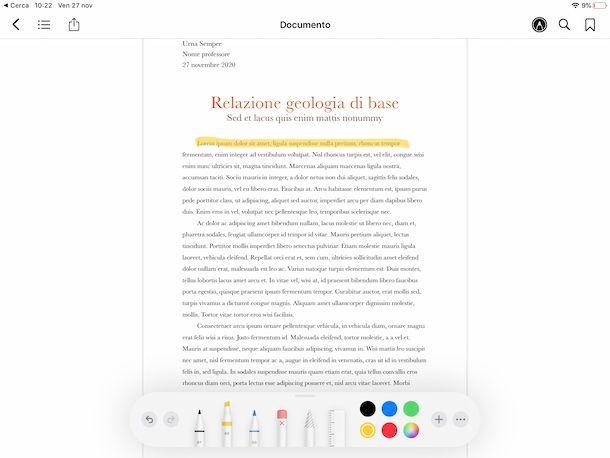 Libri PDF iPadOS