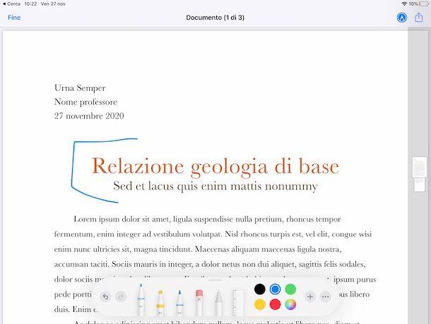 File PDF iPadOS