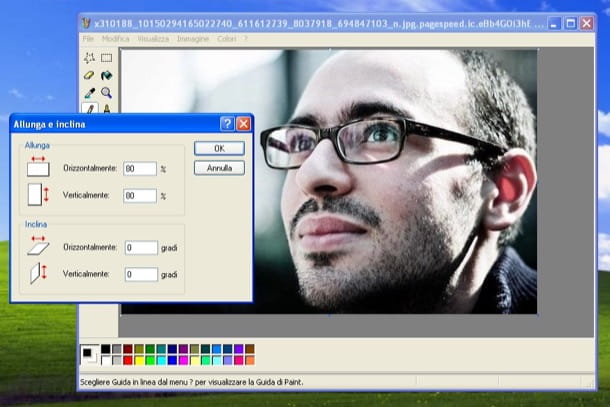 Come ridimensionare una foto con Paint
