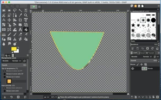 Logo creato con GIMP