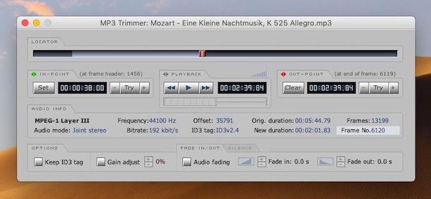 Come tagliare le canzoni con Mac