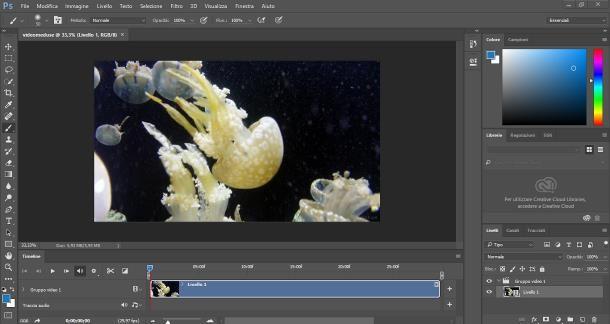 Come modificare video con Photoshop