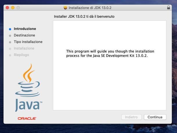 Come installare Java su Mac