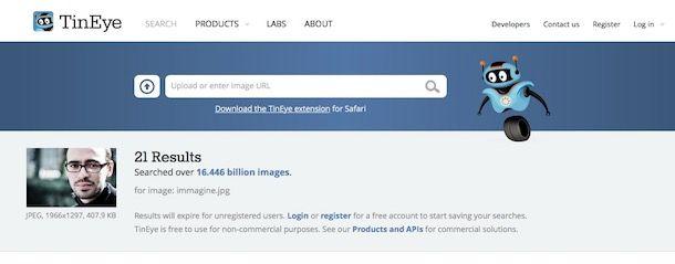 Come cercare una persona su Facebook tramite foto