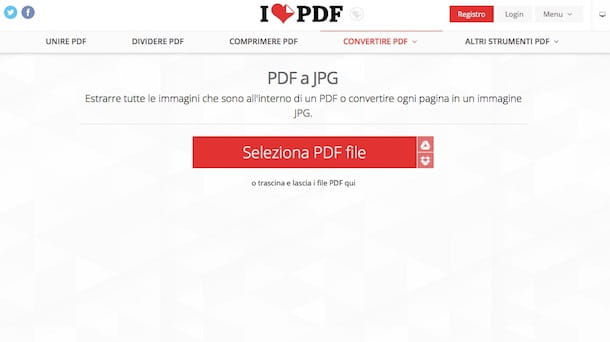 Come trasformare un PDF in JPG con Mac