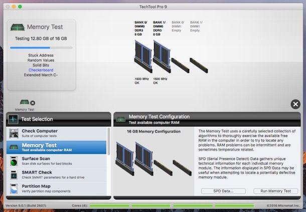 Programmi per testare la RAM