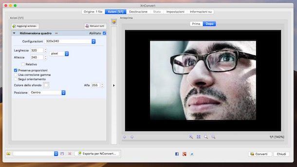 Come ridurre le dimensioni di una foto Mac