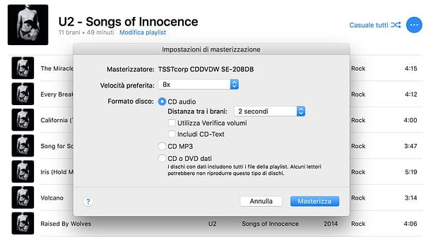how to make an audio cd on mac