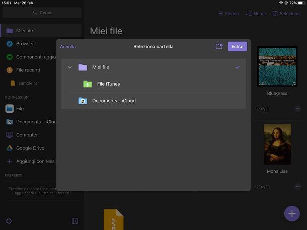 Documents by Readdle su iPad