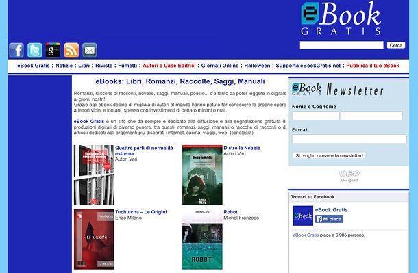Sito Ebook Italiano Gratis