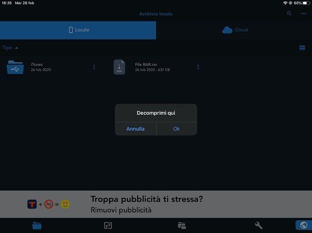 Total Files su iPad