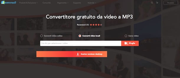 Convertitore MP3