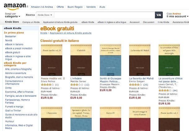 ebook shop ragazze in web gratis