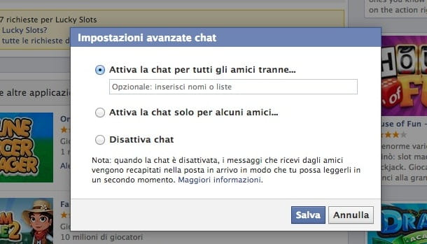 Come ignorare una persona su Facebook
