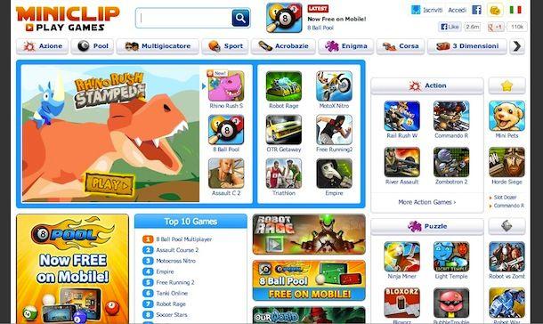 Giochi gratis online sport
