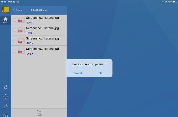 iZip su iPad