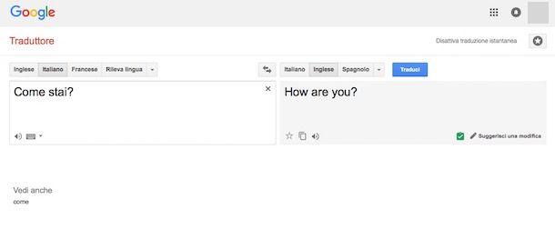 Quale traduttore è il migliore