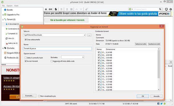 Utorrent download salvatore aranzulla for Porte utorrent