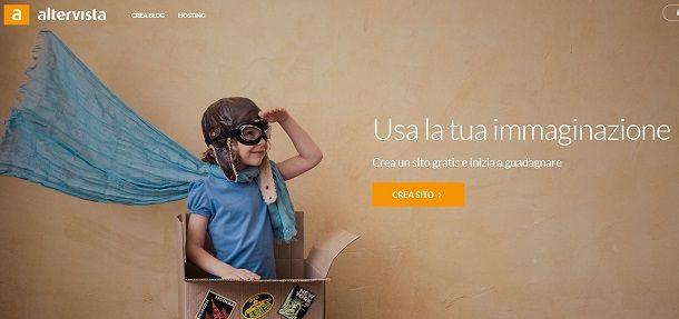 Creare un blog gratis con Altervista