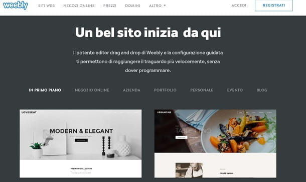 Come creare siti web gratis salvatore aranzulla for Sito regali gratis