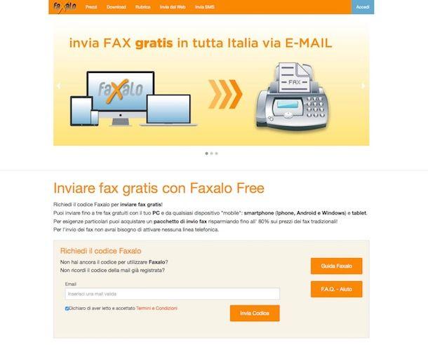 05ba5bc203 ... apri la tua casella di posta elettronica ed apri il messaggio ricevuto  dal team di Faxalo per scoprire il tuo codice di attivazione del servizio.