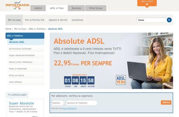 Verifica copertura adsl salvatore aranzulla for Piani del sito online