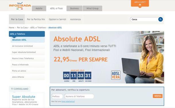 Copertura ADSL