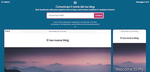 Creare un blog gratis con WordPress