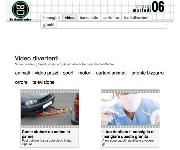 YouTube video divertenti