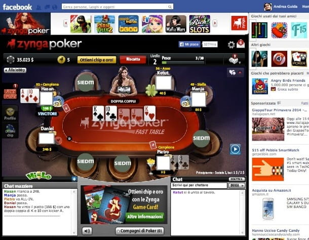Poker gratis Facebook