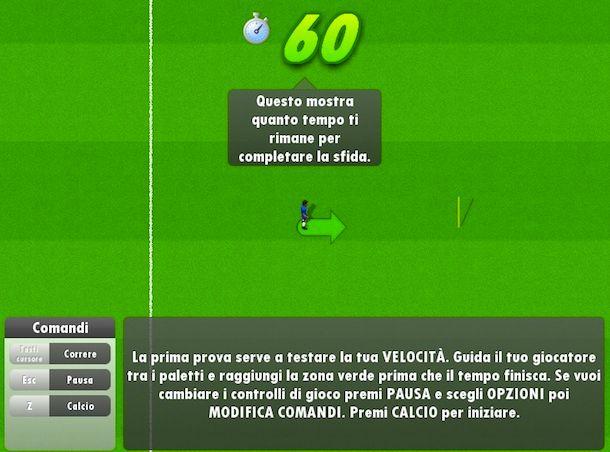 Giochi gratis di calcio rigori