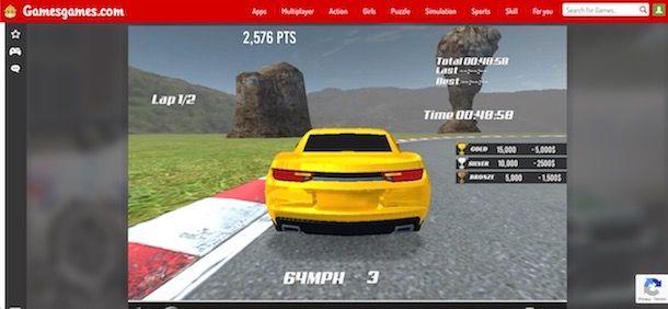 Giochi auto online