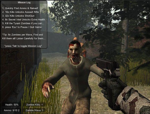 Giochi con zombi