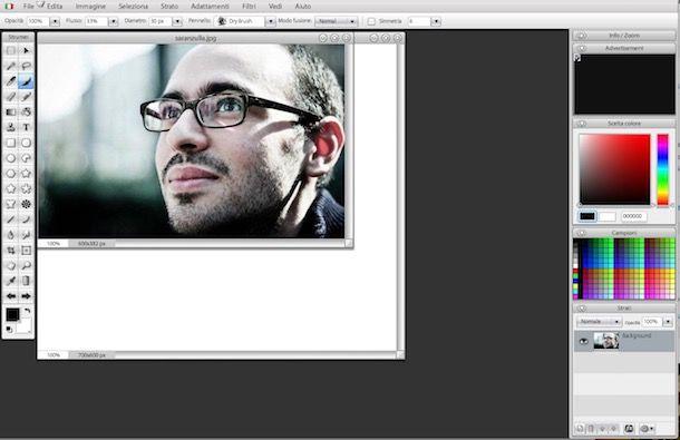 Come usare Photoshop online gratis
