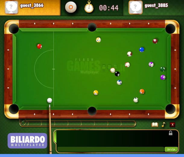 Biliardo multiplayer