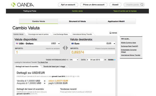88ddf94f7b Convertitore Euro Dollaro | Salvatore Aranzulla