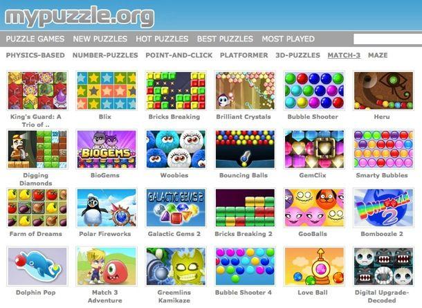 Giochi puzzle gratis